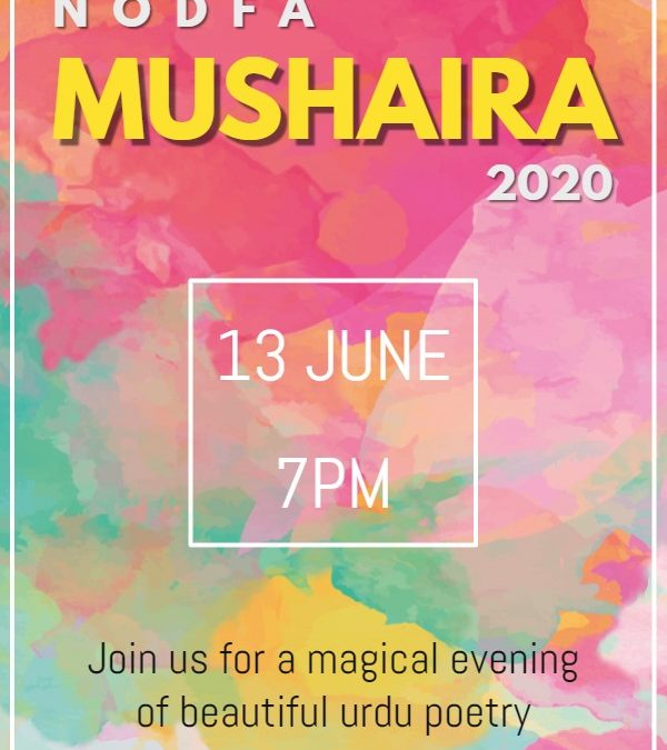 NODFA Mushaira Jun 2020